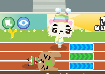 The agony of defeat in Pet Society's hurdle races.