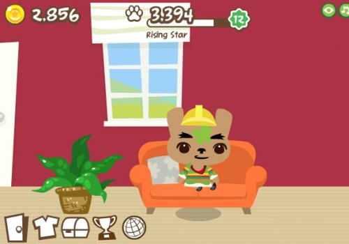 New furniture for house in Pet Society
