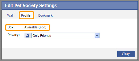 Add Box to your Facebook profile.