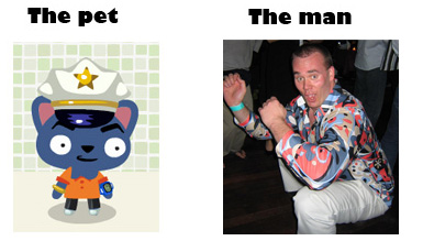 The player behind the pet. Which do you prefer?