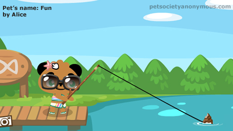 Kangaroo fish in pet society for Pet fish games