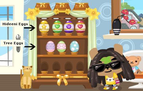 Easter Eggs Pet Society