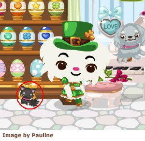 shrunken petling in pet society