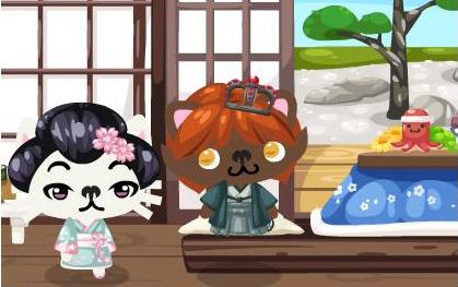 pet society geisha
