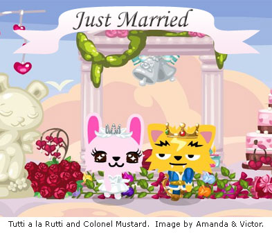 pet society wedding