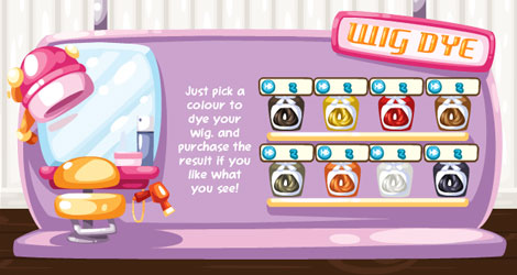 wig dyes in pet society