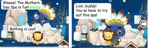 mother's day spa in pet society