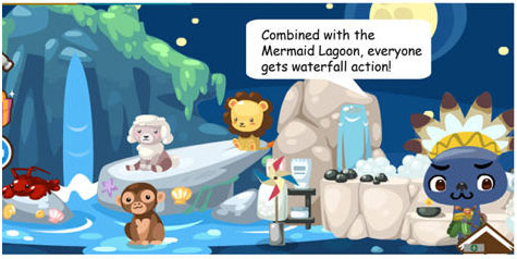 mermaid lagoon in pet society