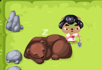 bear in pet society treasure hunt