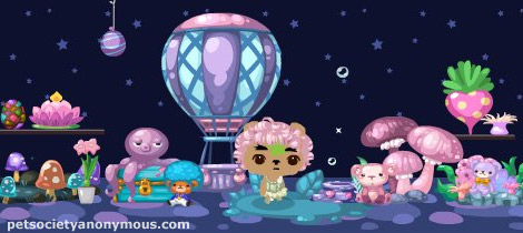 pet society enchanted forest