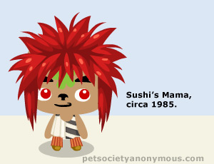pet society punk rocker