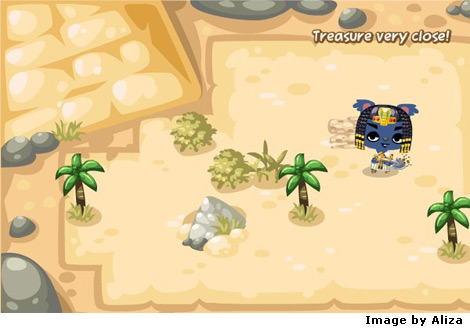 egyptian dig in pet society