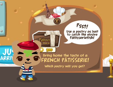 patisserie box in pet society