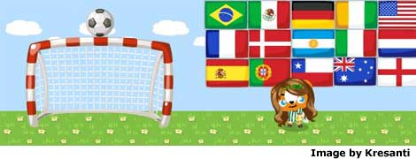 world cup flags in pet society