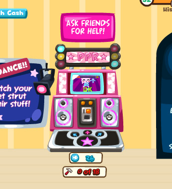 paw paw dance revolution in pet society