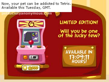 tetris in pet society