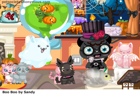halloween in pet society