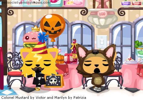 zombie party in pet society