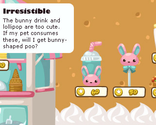 bunny food in pet society