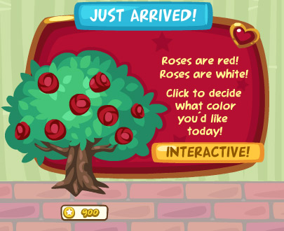 rosebush in pet society
