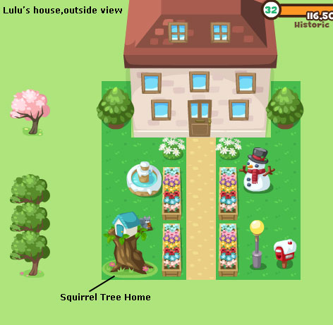squirrel tree home in pet society